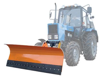 422Лопата для трактора мтз 82